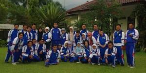 Kontingen Olimpiade dari kecamatan Cisarua