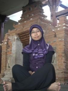 Di masjid menara Kudus, jalan Sunan Muris, Kudus