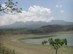 Dasar Gunungrowo yang berkonversi jadi lahan penggembalaan