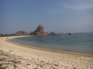 Lovely Kuta Beach Lombok