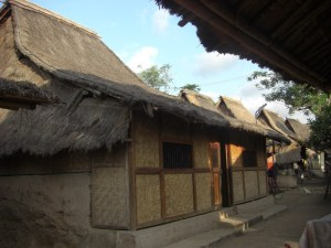 Sasak settlement in Sade Village